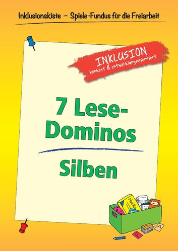 Freiarbeitsmaterial: 7 Lese-Dominos - Silben