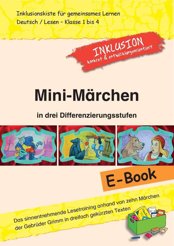 Mini-Märchen in drei Differenzierungsstufen - Inklusionskiste